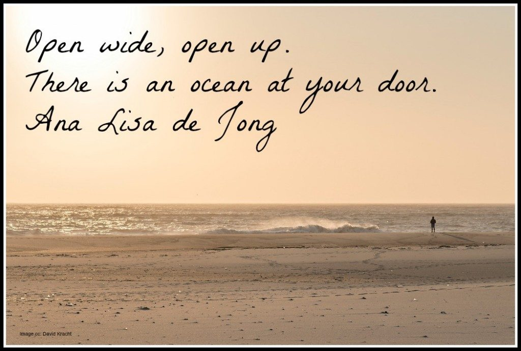 Open up there is an Ocean at your Door